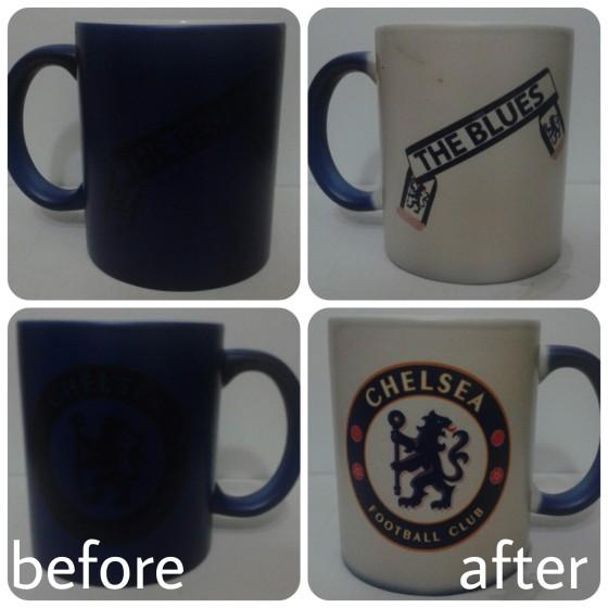 mug bunglon biru