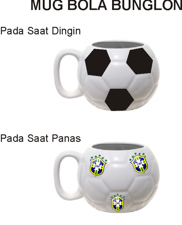 Mug Bola Bunglon