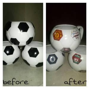 mug bunglon bola custom